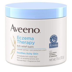 aveeno eczema therapy itch relief balm 11oz