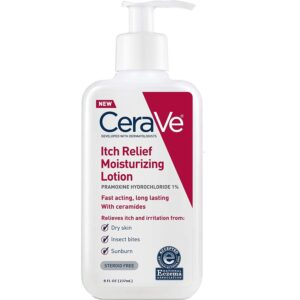 cerave itch relief lotion 8oz
