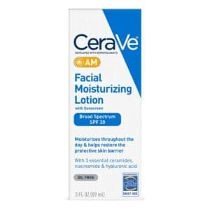 Cerave Facial Moisturizing Lotion AM 30 SPF, 3 Oz