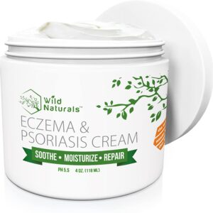 Wild Naturals Eczema and Psoriasis Cream, 4oz