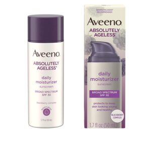 Aveeno Absolutely Ageless Daily Moisturizer with Sunscreen, 1.7oz