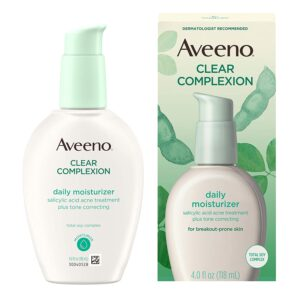 Aveeno Clear Complexion Daily Moisturizer, 4oz