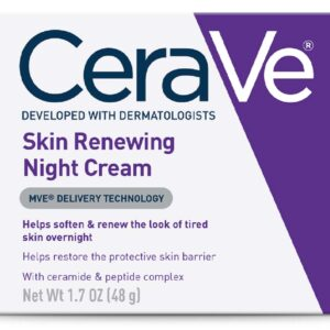 CeraVe Skin Renewing Night Cream, 1.7oz
