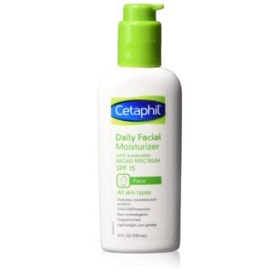 Cetaphil Daily Facial Moisturizer with Sunscreen, 4oz