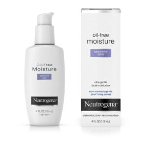 Neutrogena Oil-Free Moisture, Sensitive Skin, 4oz