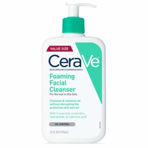 CeraVe Foaming Facial Cleanser, 16oz