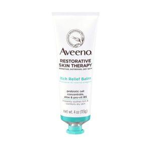 Aveeno Restorative Therapy Itch Relief Balm, 4oz