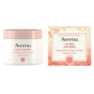 Aveeno Ultra-Calming Night Cream, 1.7oz