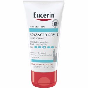 Eucerin Advanced Repair Hand Cream, 2.7oz
