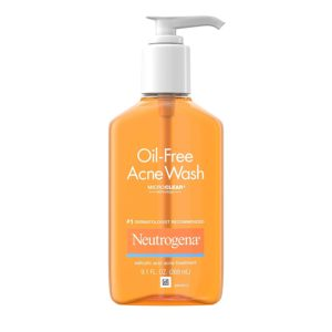 Neutrogena Oil-Free Acne Wash, 9.1oz