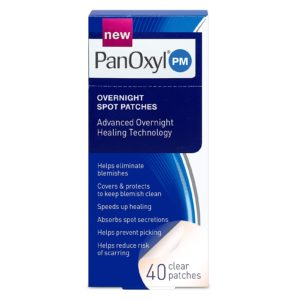 PanOxyl Overnight Spot Patches, 40ct