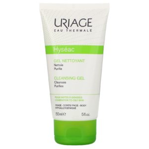 Uriage Hyseac Cleansing Gel, 5oz, standardized packaging