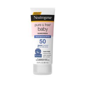 Neutrogena Baby Mineral Sunscreen, SPF 50, 3oz